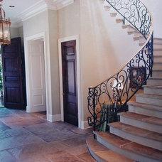 Mediterranean Staircase by Al Jones Architect