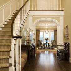 Traditional Staircase by Bruce D. Nagel Architect