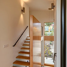 Contemporary Staircase by dustin.peck.photography.inc