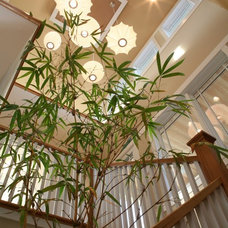 Traditional Staircase by Sarah Susanka, FAIA