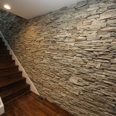 Contemporary Staircase by Lifetime Stones