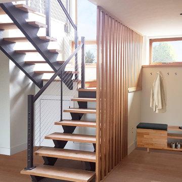 Light Filled Modern Green Home