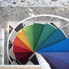 13 Colourful Staircase Designs That Ride the Rainbow