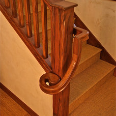 Traditional Staircase by Lehman Design Studio