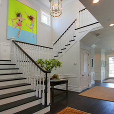 Traditional Staircase by White Picket Fence, Inc