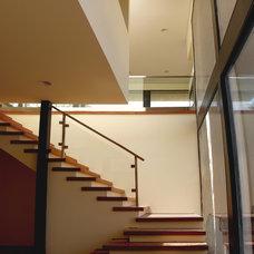 Modern Staircase by Martin Fenlon Architecture