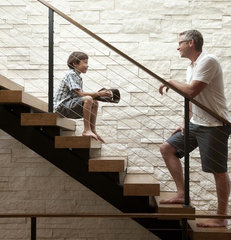 contemporary staircase by Andrea Swan - Swan Architecture