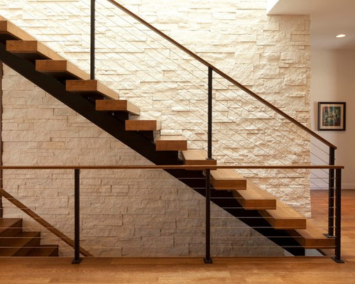 Modern Stairs Modern Staircase Ideas Designs & Remodel Photos  Houzz