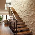 Linden Hills Contemporary Contemporary Staircase