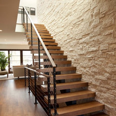 Modern Staircase by Andrea Swan - Swan Architecture