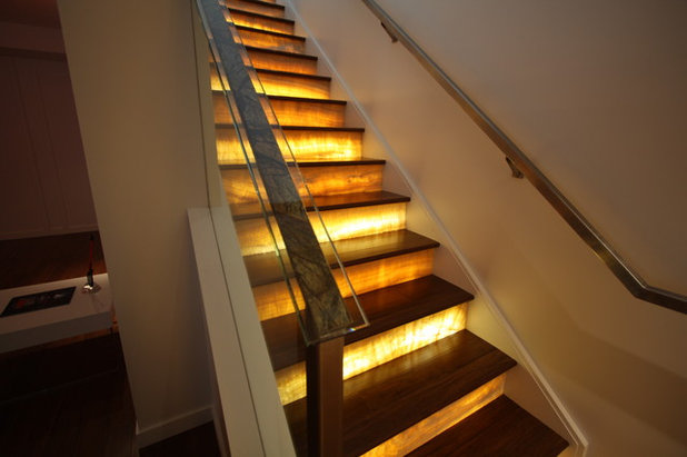 Contemporary Staircase by Architectural Justice