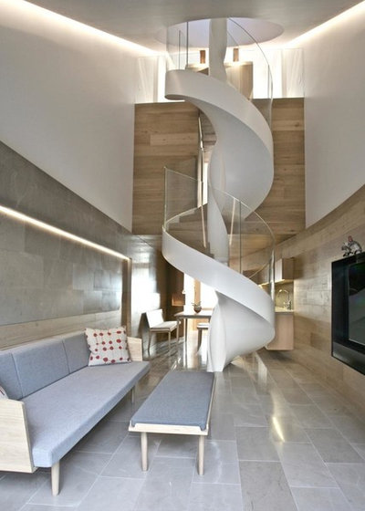 Contemporary Staircase by Correa Design
