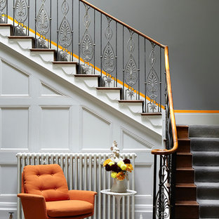 Contemporary staircase in Other.