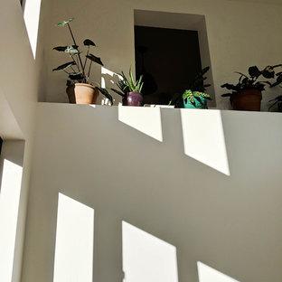 Idées déco pour un petit escalier sud-ouest américain en U.