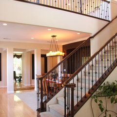 traditional staircase by Design Discoveries