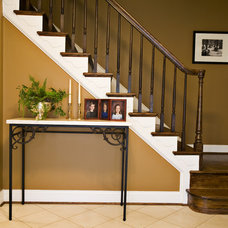 Traditional Staircase by Fisher Group LLC