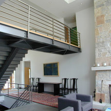 Contemporary Staircase by Fein Design