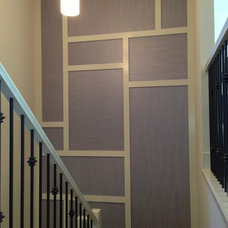 Modern Staircase by Modern Wall Design