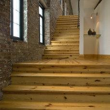Modern Staircase by Studio Durham Architects