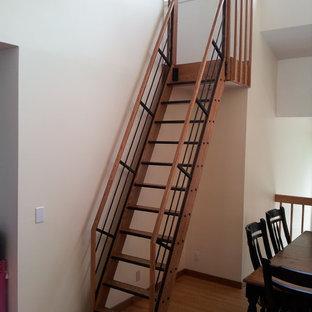 Trendy staircase photo in Minneapolis