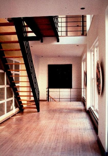 Contemporary Staircase by Carlos E.Ostrej Design LLC
