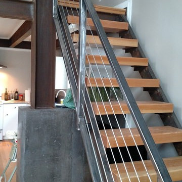 Loft Staircase Cable Rail & Cable Filler Railing