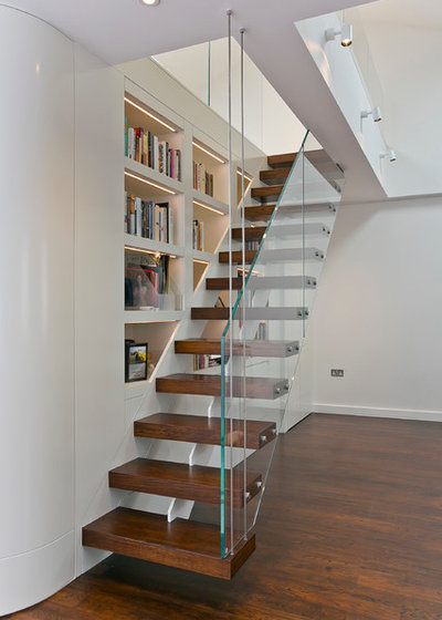 Contemporary Staircase by TEMZA