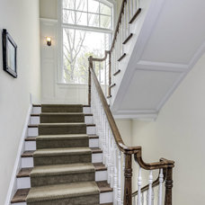 Traditional Staircase by Carter Inc