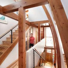 Contemporary Staircase by Andrea Schumacher Interiors