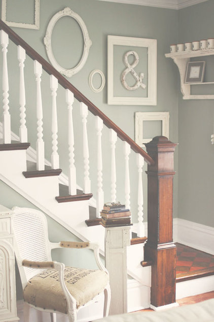 Traditional Staircase by Kasey Buick