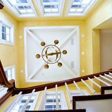 Traditional Staircase by London Bay Homes