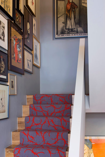 Eclectic Staircase by Precious McBane