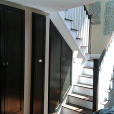 Beach Style Staircase by WC Design Center
