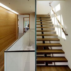 Contemporary Staircase by Aleck Wilson Architects