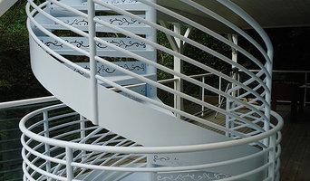 Los Gatos CA Custom Spiral Staircase
