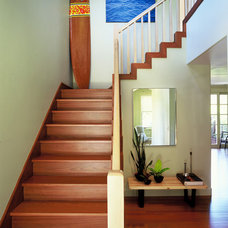 Modern Staircase by Suzette Sherman Design