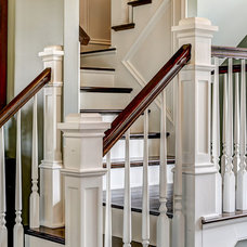Traditional Staircase by JH Designs