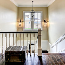 Farmhouse Staircase by JH Designs