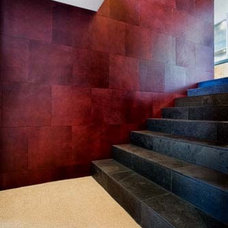 modern staircase by Quezada Architecture