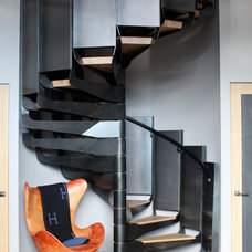 Contemporary Staircase by Union Studio
