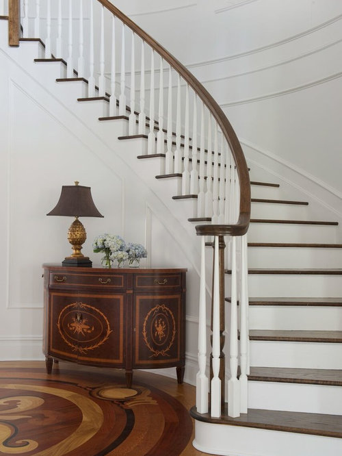 75 Most Popular Staircase Design Ideas For 2019: 75 Popular Curved Staircase Design Ideas