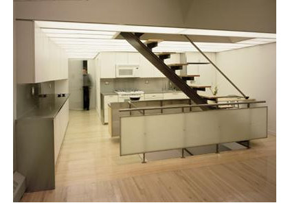 Contemporary Staircase by Lewis.Tsurumaki.Lewis Architects