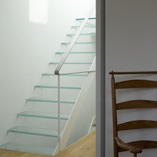 Contemporary Staircase by Luis Trevino Architects