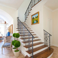 Traditional Staircase by Danes Custom Homes