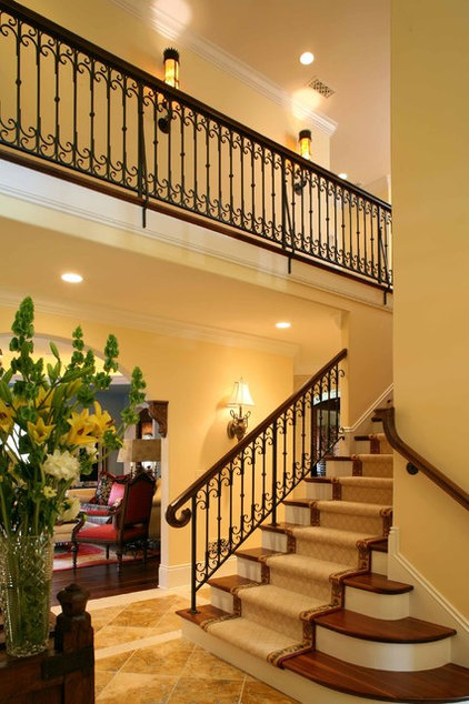 traditional staircase by HBF plus Design
