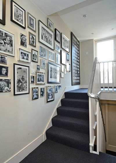 Transitional Staircase by Teresa Superville Photography