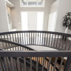 Contemporary Staircase by Bengel Custom Homes