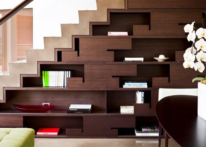Современный Лестница by Kerr Construction