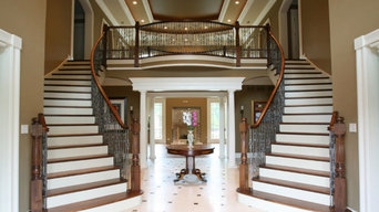 Luxury Mansion Stairs - Highland Park, IL