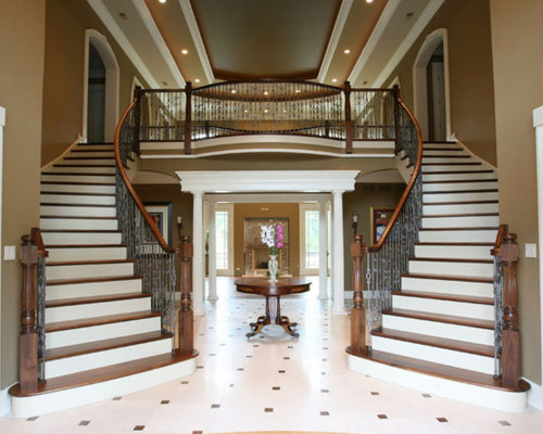 Luxury Mansion Stairs   Highland Park, IL